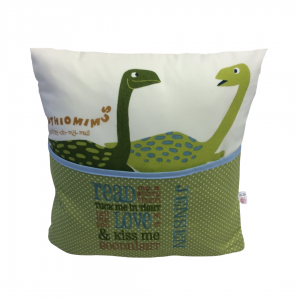 Dino Reading Cushion